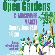 Galphay Open Gardens @ Midsummer Market 2018