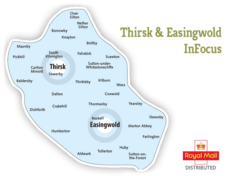 Thirsk Easingwold InFocus map